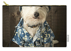 Vacation Dog Carry-all Pouch by Edward Fielding