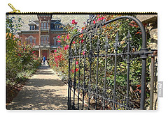 Vaile Landscape And Gate Carry-all Pouch by Liane Wright