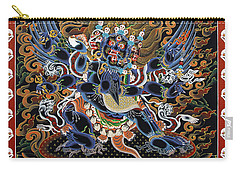 Vajrakilaya Dorje Phurba Carry-all Pouch by Sergey Noskov