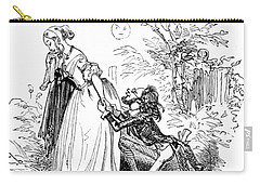 Valentines Day, 1855 Carry-all Pouch by British Library