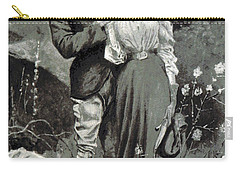 Valentines Day, 1898 Carry-all Pouch by British Library