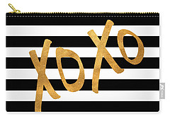 Valentines Stripes IIi Carry-all Pouch