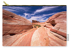 Valley Of Fire 2 Carry-all Pouch by David Beebe