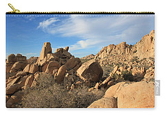 Carry-all Pouch featuring the photograph Valley Of Rocks by Amy Gallagher