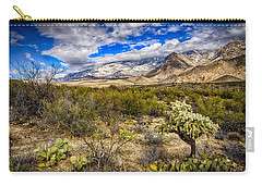 Carry-all Pouch featuring the photograph Valley View 27 by Mark Myhaver