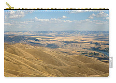 Carry-all Pouch featuring the photograph Valley View by Mark Greenberg