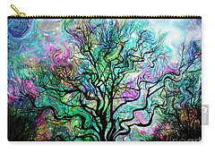 Van Gogh's Aurora Borealis Carry-all Pouch by Barbara Chichester