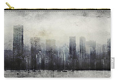 Vancouver Skyline Abstract 1 Carry-all Pouch