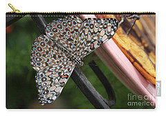 Carry-all Pouch featuring the photograph Variable Craker Butterfly #2 by Judy Whitton