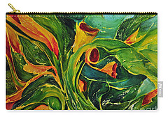Carry-all Pouch featuring the painting Variation  No.2 by Teresa Wegrzyn