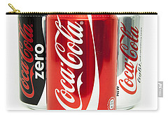 Various Coke Cola Cans Carry-all Pouch by Antony McAulay