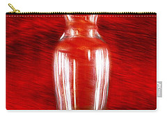 Carry-all Pouch featuring the photograph Vase En Rouge by Aaron Berg