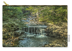 Carry-all Pouch featuring the photograph Vaughan Woods Stream by Jane Luxton