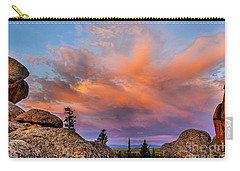Vedauwoo Sunrise Carry-all Pouch by Steven Reed