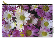 Carry-all Pouch featuring the photograph Vegas Butterfly Garden Flowers Colorful Romantic Interior Decorations by Navin Joshi