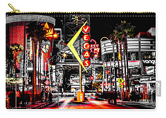 Vegas Nights Carry-all Pouch by Az Jackson