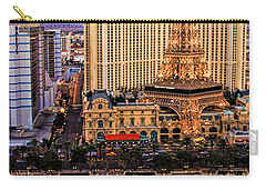 Vegas Water Show Carry-all Pouch by Tammy Espino