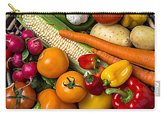 Vegetable Basket    Carry-all Pouch by Garry Gay