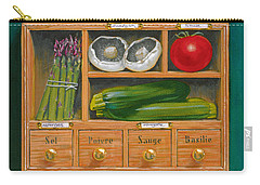 Vegetable Shelf Carry-all Pouch by Brian James