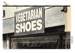 Vegetarian Shoes Carry-all Pouch