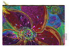 Velvet Garden Carry-all Pouch