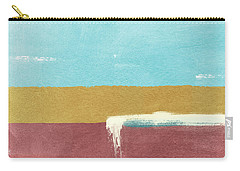 Velvet Horizon- Abstract Landscape Carry-all Pouch