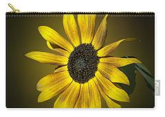 Velvet Queen Sunflower Carry-all Pouch