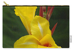 Velvety Yellow Iris  Carry-all Pouch