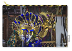 Venetian Carnival Masks Cadiz Spain Carry-all Pouch
