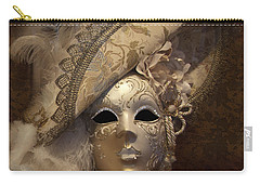 Venetian Face Mask F Carry-all Pouch