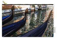 Venetian Gondolas Carry-all Pouch by Georgia Mizuleva