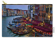Venetian Grand Canal At Dusk Carry-all Pouch