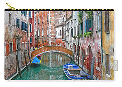 Carry-all Pouch featuring the photograph Venetian Idyll by Hanny Heim
