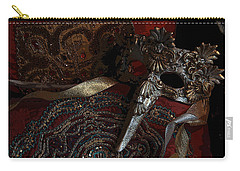 After The Carnival - Venetian Mask Carry-all Pouch