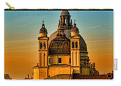 Venezia-basilica Of Santa Maria Della Salute Carry-all Pouch by Tom Prendergast
