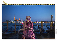 Venice Carnival '15 V Carry-all Pouch