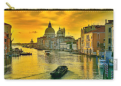 Golden Venice 3 Hdr - Italy Carry-all Pouch by Maciek Froncisz