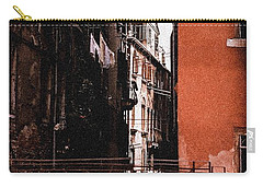 Carry-all Pouch featuring the photograph A Chapter In Venice by Ira Shander
