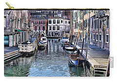 Venice Italy Iv Carry-all Pouch by Tom Prendergast