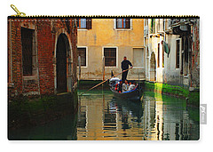 Venice Reflections Carry-all Pouch by Bob Christopher
