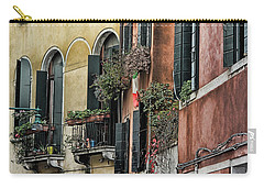 Windows In Venice  Carry-all Pouch by Tom Prendergast