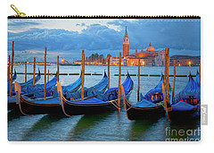 Venice View To San Giorgio Maggiore Carry-all Pouch by Heiko Koehrer-Wagner