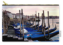 Venice - Waiting For The Day To Start Carry-all Pouch
