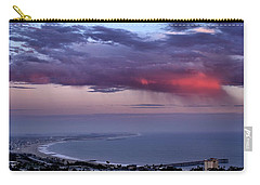 Carry-all Pouch featuring the photograph Ventura Beach by Michael Gordon