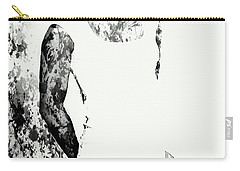 Venus Williams Paint Splatter 2c Carry-all Pouch by Brian Reaves