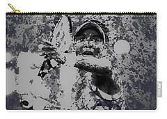 Venus Williams Paint Splatter 2e Carry-all Pouch by Brian Reaves