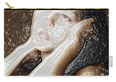 Carry-all Pouch featuring the photograph Verity Unmasked by Richard Thomas