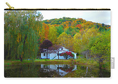 Vermont House In Full Autumn Carry-all Pouch