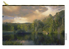 Vermont Morning Reflection Carry-all Pouch by Jeff Kolker
