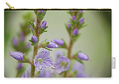 Carry-all Pouch featuring the photograph Veronica's Tears by Peggy Collins
